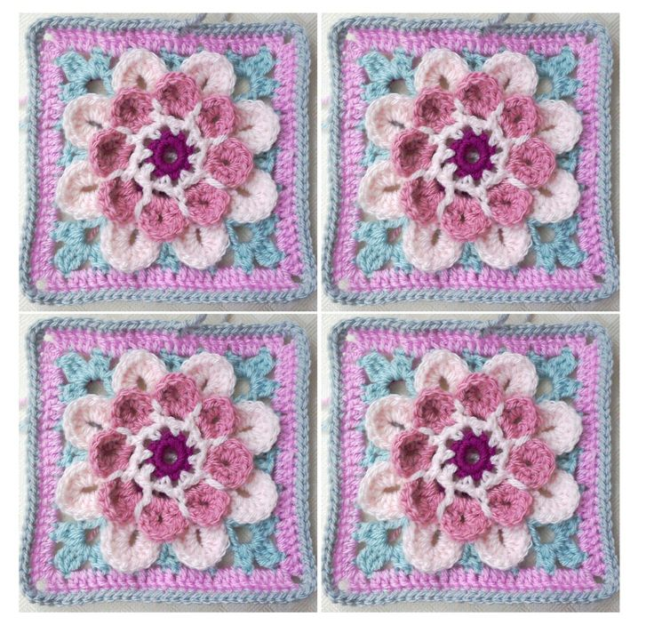 Here it is, all written up at last, the Moon Blossom square in both UK and US crochet terms.       The pattern is available as a pdf file w...