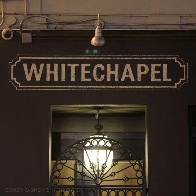 Whitechapel SF |  gin bar in Tenderloin - want to go!