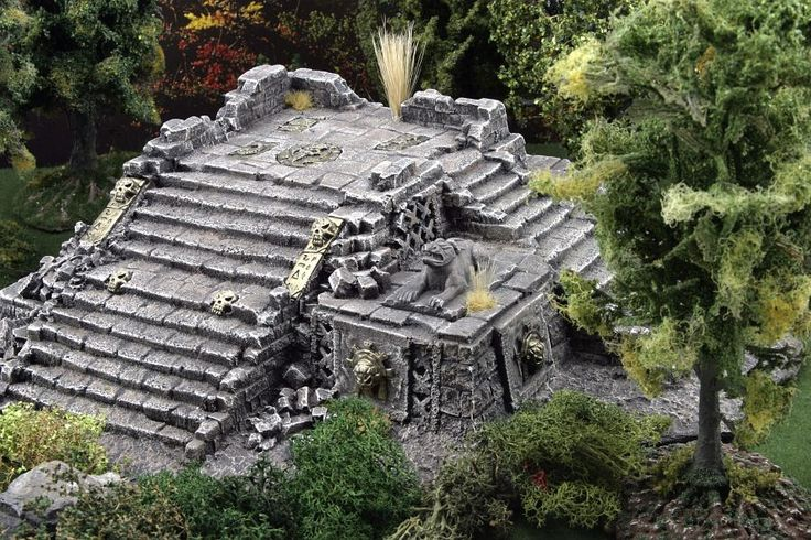Need Aztec/Ancient Ruins themed terrain suggestions. - Forum - DakkaDakka | Post for the post god!