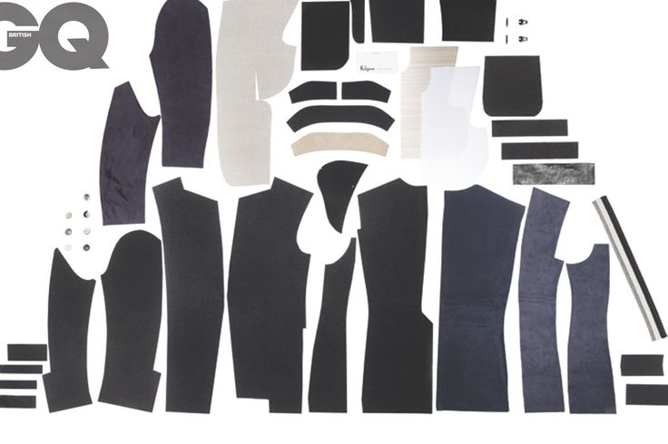 Savile Row tailor Kilgour: see exploded diagram photos of the best British products