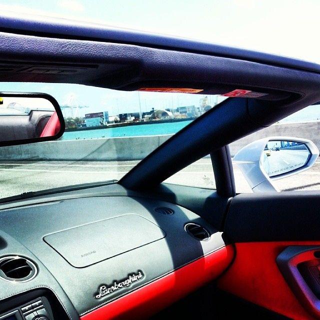 Lamborghini Car For Rental In Miami Florida USA Interior