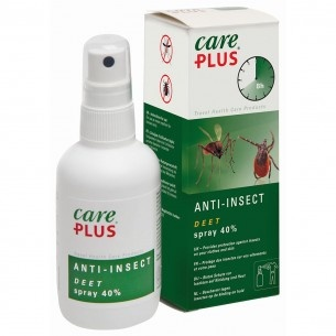 Care Plus Anti-Insect Deet spray anti-insectenspray voor huid en kleding