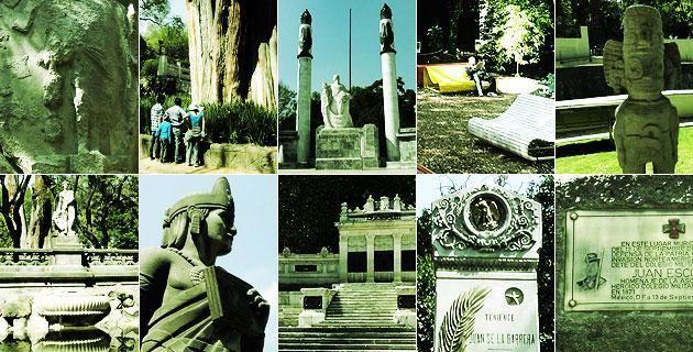 10 rincones poco conocidos del Bosque de Chapultepec. Te presentamos diez espacios que, ocultos entre los árboles o andadores de la 1ra sección de este popular parque de la CDMX, te sorprenderán con su historia y simbolismo centenarios.