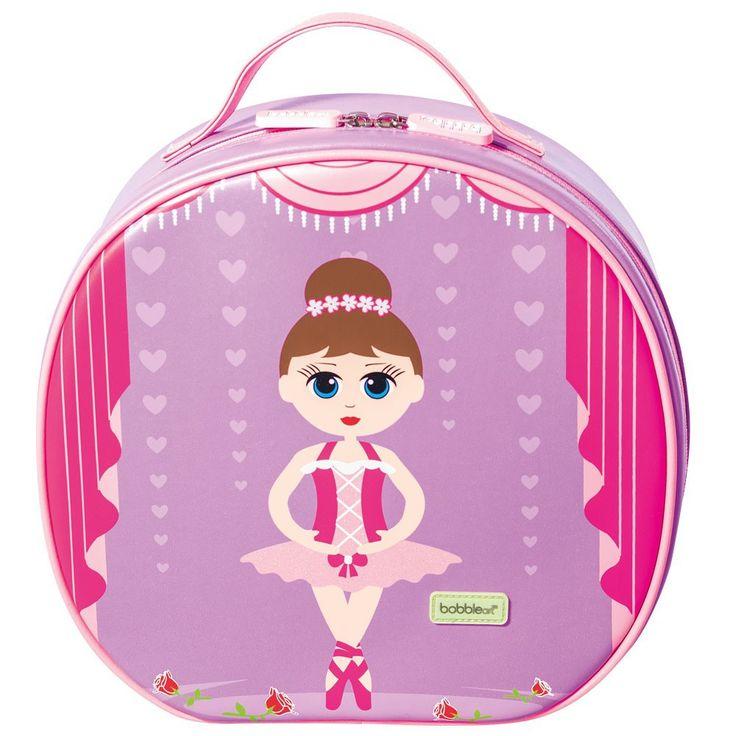 Bobble Art - Dance Case - Glitter Ballerina - bubbalove.com.au
