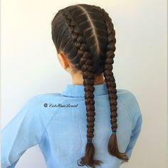 Dutch Braids Boxer-braids Have a fabulous Monday #behindthescenes #cghphotofeature #boxerbraids #dutchbraids #hair #braid #trenza #trendy #hot #hairstyles