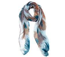 Eb & Ive Ikat scarf.  www.ebandive.com.au