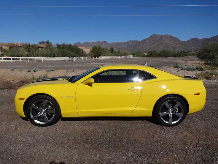 5th gen yellow 2010 RS Chevrolet Camaro V6 304 HP For Sale