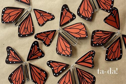 Windup Paper Butterfly