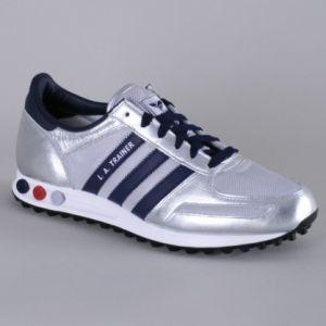 Adidas LA Trainer argento e blu € 90 : Walking Calzature