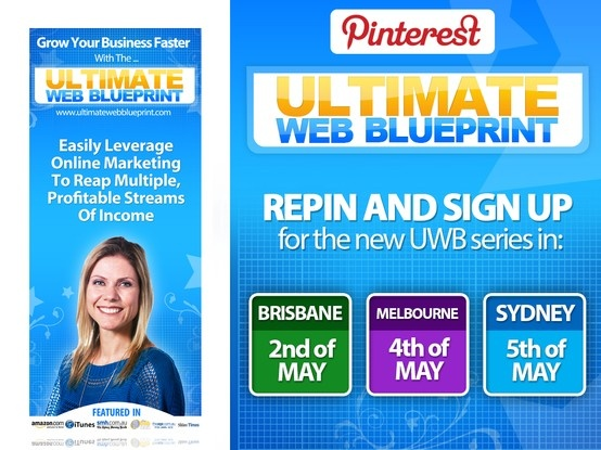 Yupii! We are excited to announce the NEW series of the Ultimate Web Blueprint Workshops to be held in THREE Australian cities that are close to our hearts: Brisbane, Melbourne and Sydney! Join the event now!