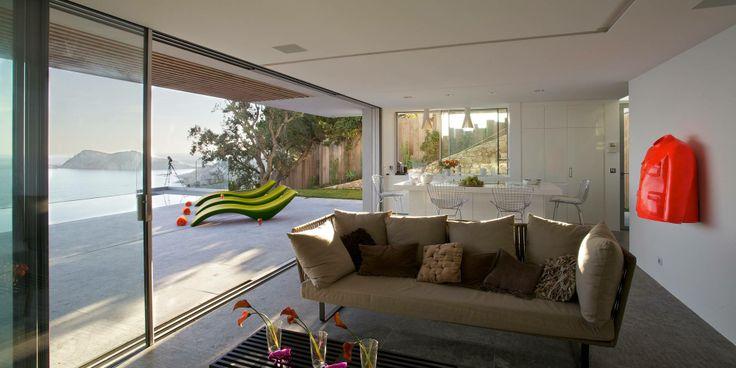 Amazing View Villa in Spanish Metal bar stools