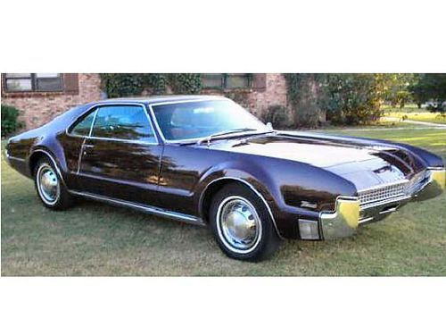 1967 Oldsmobile Toronado The first reliable front wheel drive American car.