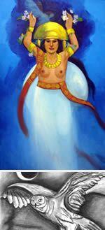 Chía: Diosa de la Luna