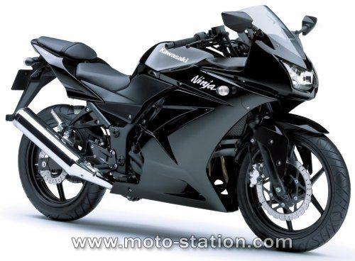 Kawasaki Ninja 250 R. My next big buy. Yes, I am learning how to ride a motorcycle. (: