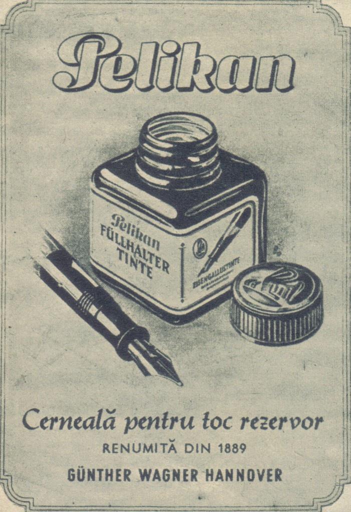 Cerneala Pelikan via www.paginademedia.ro