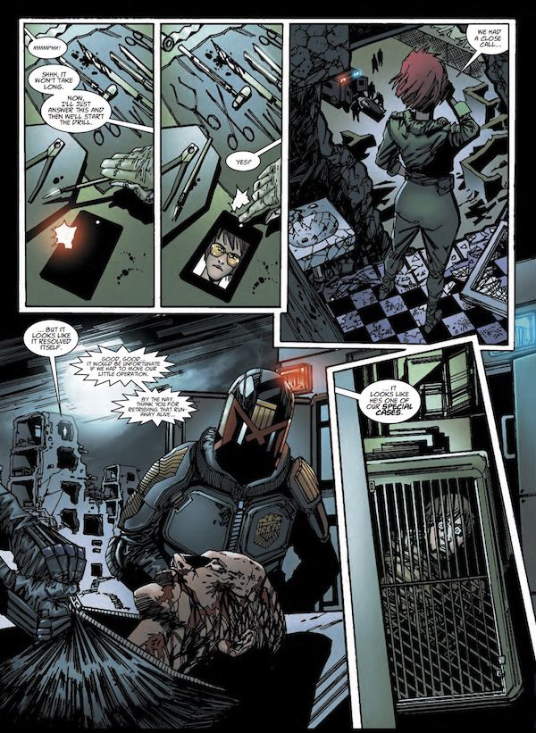 Please Rise for the Honorable: Reflecting on 2011 via 'Judge Dredd: Urban Warfare' | #comics