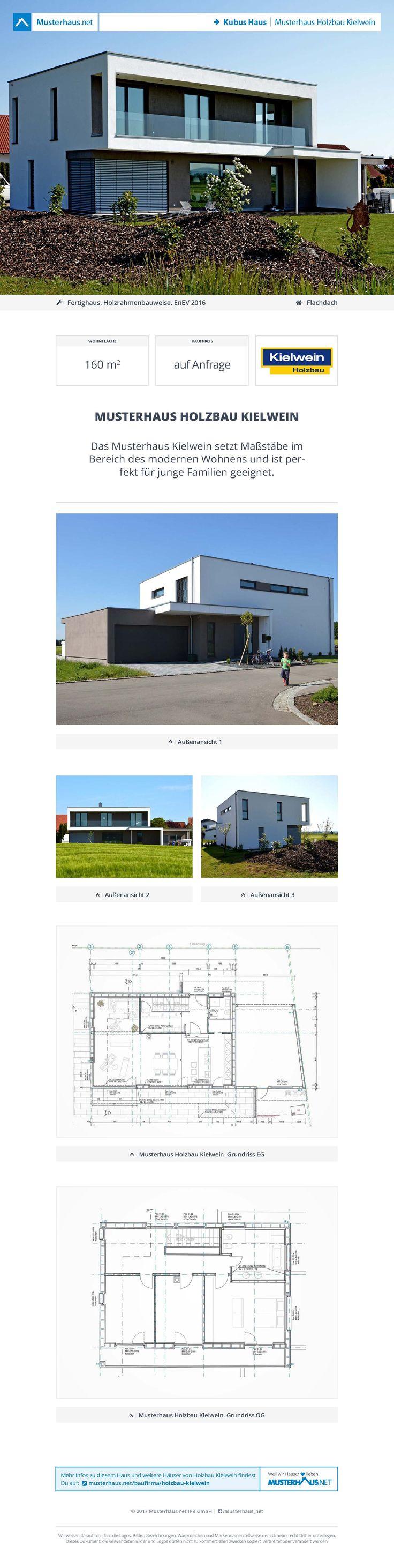 #Kubus Haus · Musterhaus Holzbau Kielwein · Holzbau Kielwein · Jetzt bei #Musterhaus.net Unterlagen anfordern!