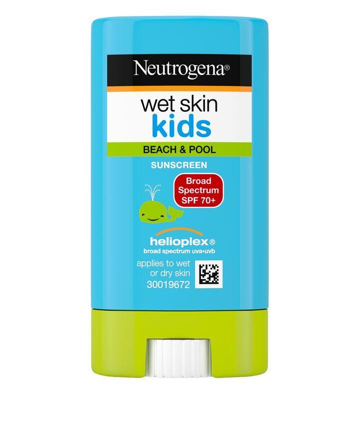 Neutrogena Wet Skin Kids Stick Sunscreen Broad Spectrum SPF 70