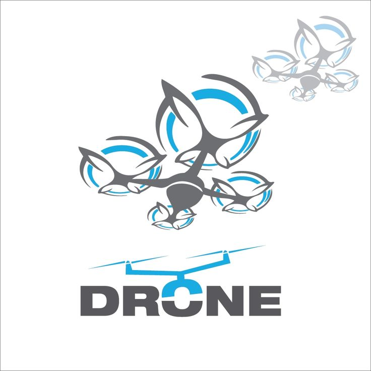 Drone concept 3 concept designed in a simple way so it can be used for multiple purposes i.e. logo ,mark ,symbol or icon.