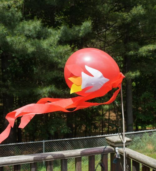 Love this simple Pentecost balloon.