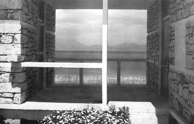 Aris Konstantinidis - Weekend House, Sykia, Greece, 1951