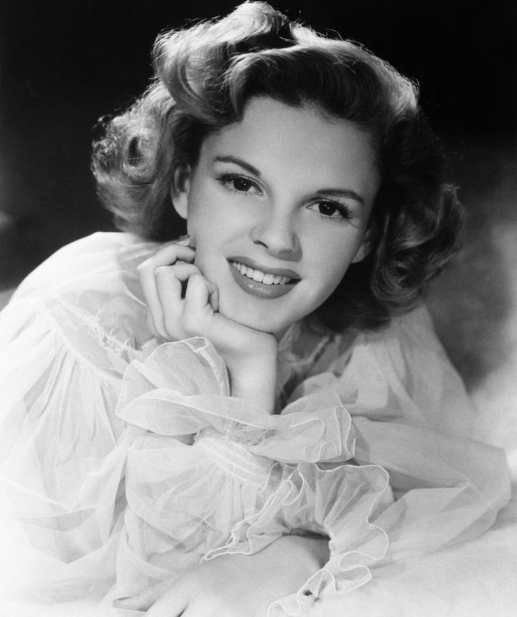 Judy Garland- I loved her watching her in the movies when I was growing up. She was such a great actress.