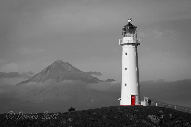 Cape Egmont Lighthouse Taranaki New Zealand | Flickr - Photo Sharing! Dominic Scott Photography