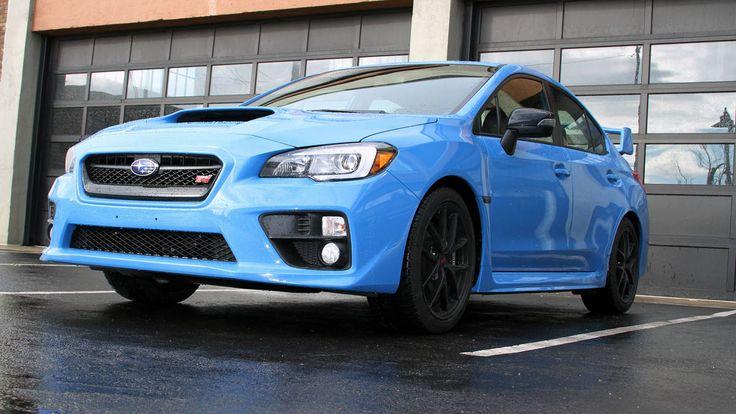 2016 Subaru WRX STI - HyperBlue