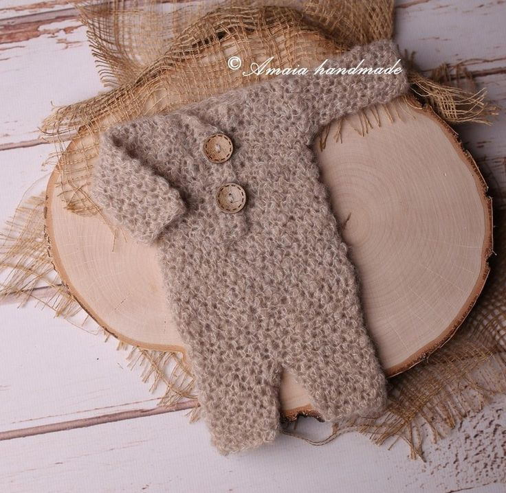 Newborn overalls - crochet newborn romper - Beautiful newborn photo outfit - multiple colors - very soft aplaca wool - made to order by Amaiahandmade on Etsy