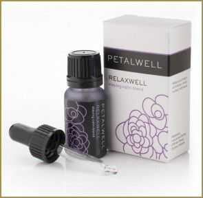 Relaxwell – the blend for comfort. A #hug in a bottle.  Feel your #muscles #release and tensions ebb away thanks to the warm, reassuring notes of #Jasmine, #Frankincense and #Cedarwood #Petalwell