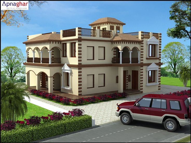 """""""Home is a place you grow up wanting to leave, and grow old wanting to get back to."""" - John Ed Pearce  Find latest house designs - www.apnaghar.co.in"""