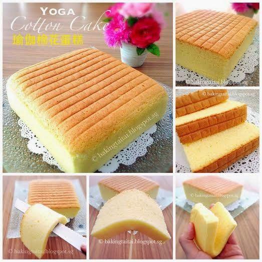 Baking Taitai Yoga Cake