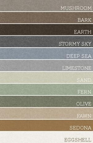 Take any set of 3 of these colors and each room would be amazing. A palette for the whole house! by patricé