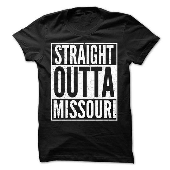Straight Outta MISSOURI - Awesome Team Shirt ! - #women #t shirts design. SATISFACTION GUARANTEED => https://www.sunfrog.com/LifeStyle/Straight-Outta-MISSOURI--Awesome-Team-Shirt-.html?60505