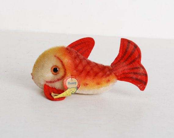 47 best images about steiff on pinterest tabby cats toy for Fish stuffed animals