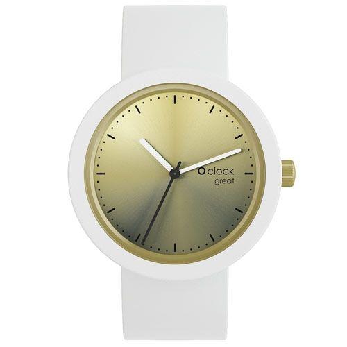 Zegarek na rękę O clock. Zestaw gotowy do noszenia: mechanizm (tarcza) + pasek.  Praktyczny dodatek w radosnym stylu Fullspot. Dla Niej i dla Niego. Modny dizajni niezawodność.