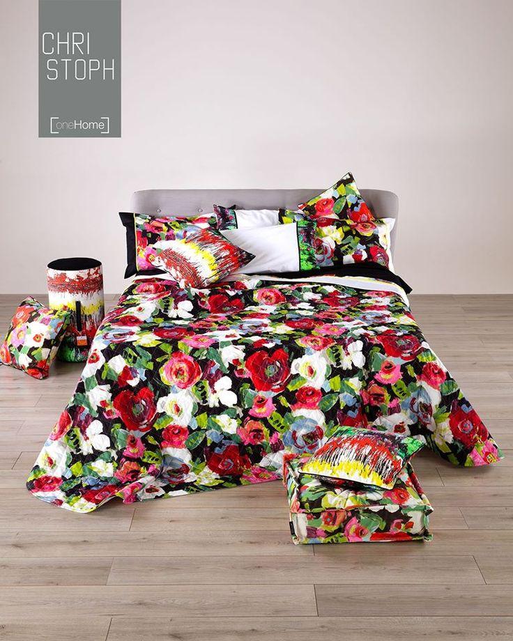 """""""I fiori della primavera sono i sogni dell'inverno raccontati, la mattina, al tavolo degli angeli."""" K.G. #OneHome #Casa #letto #copriletto"""