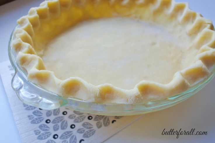 This is the only pie crust recipe you will ever use again. Rich, flaky and savory it has all the bases covered. One bite of...