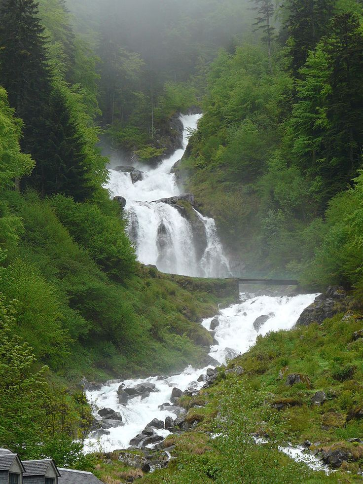 Cauterets cascade du Lutour (2) - Cauterets — Wikipédia