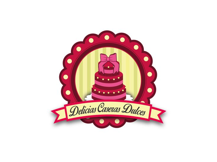 Cliente : DCD. Empresa : Delicias Caseras Dulce. Rubro : Pastelería. Trabajo : Creación de logotipo Software : Illustrator.