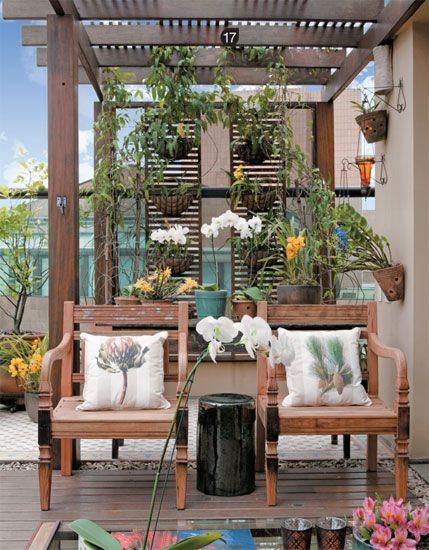 23 ideias charmosas para valorizar as varandas - Casa: