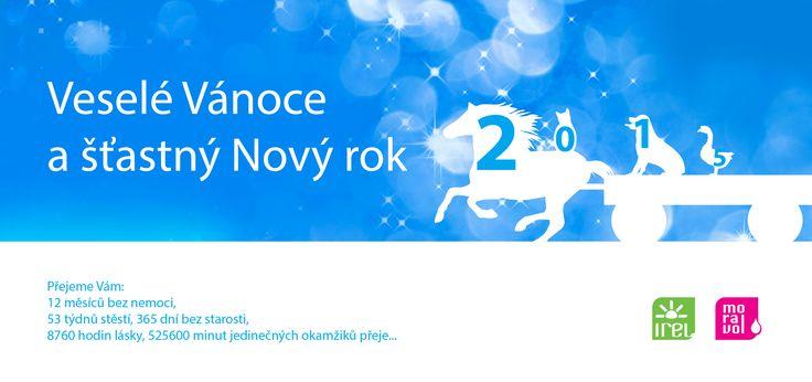 Přejeme veselé Vánoce a šťastný Nový rok 2015!