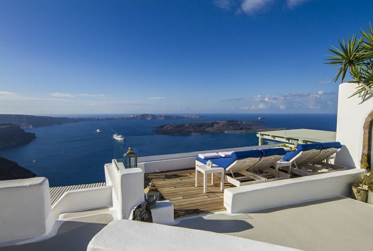 Iconic Santorini is truly a haven of tranquility...