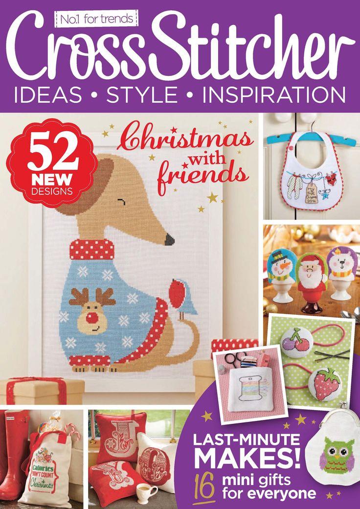 Cross Stitcher Magazine - December 2014 286 - CrossStitcher