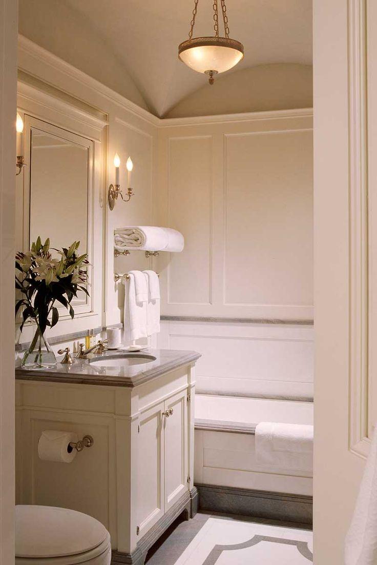Best 25+ Small elegant bathroom ideas on Pinterest   Small ... on Small Space Small Bathroom Ideas Pinterest id=29473