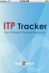 App to Track Platelet Counts for patients with Idiopathic Thrombocytopenic Purpura, ITP
