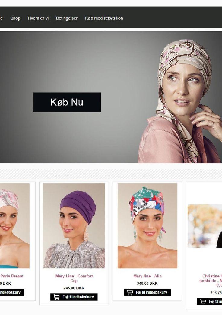 Hovedbeklædning til kræftramte kvinder