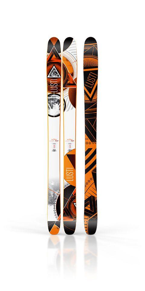 freeride ski design lusti vertigo