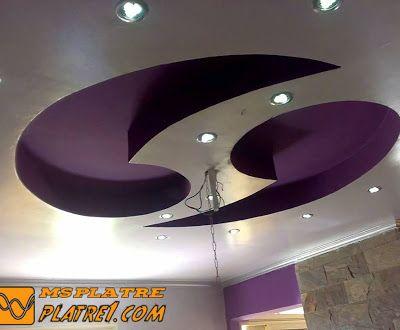 Découvrez les Top faux plafond en platre sculpté tendu et suspendu avec un élégant design qui sont reconnus par sa qualité