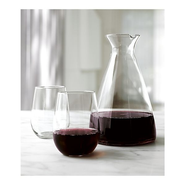 stemless wine glass set of 8